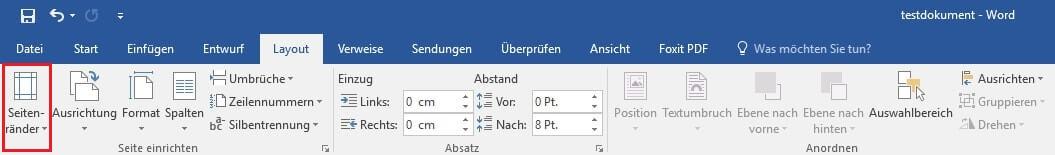 In Word das Seitenlayout verwenden_Auswahl Layout - Kopie